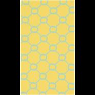Cape Cod Lemon/Aqua Area Rug