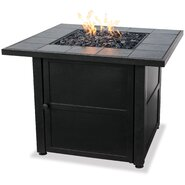 Uniflame Ceramic Tile LP Gas Firepit