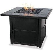 Uniflame Ceramic Tile LP Gas Firepit