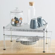 Wayfair Basics Mini Basket and Shelf Organizer