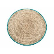 Laguna Round Rattan Placemat (Set of 2)