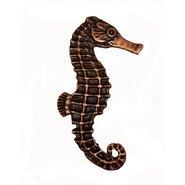 Tropical Seahorse Right Facing Novelty Knob