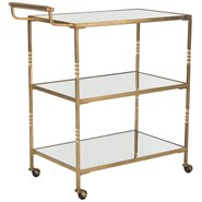 Aurelius Bar Serving Cart