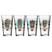 Tiki 16 oz. Tropical Mixing Glass