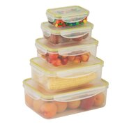 10 Piece Locking Food Storage Set