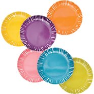 "Fringe 6.5"" Appetizer Plate (Set of 6)"