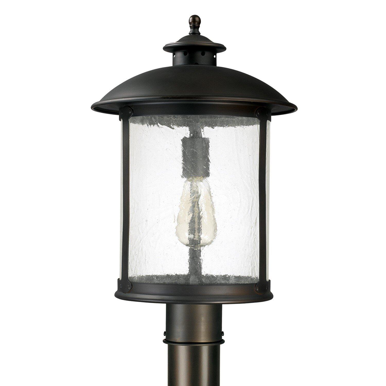 dylan 1 light pier mount light wayfair. Black Bedroom Furniture Sets. Home Design Ideas