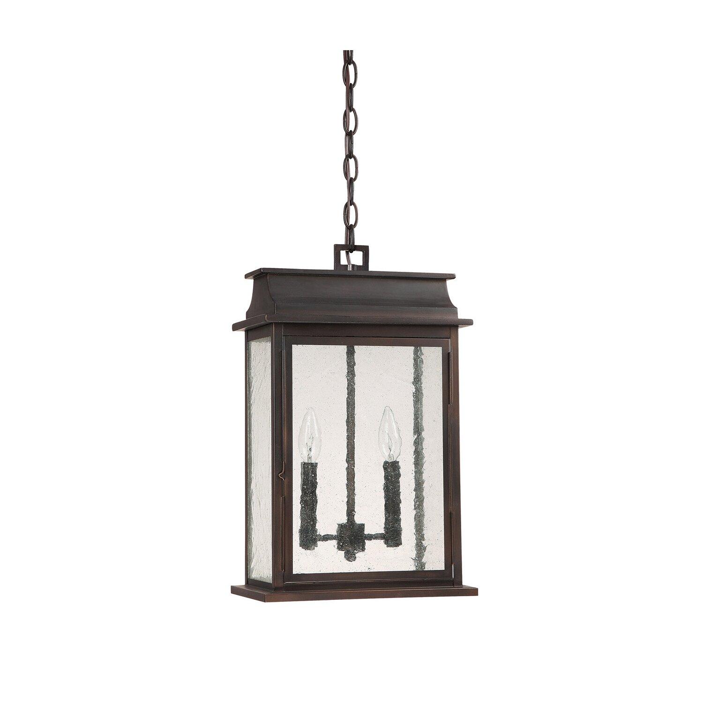 Bolton 2 Light Outdoor Hanging Lantern