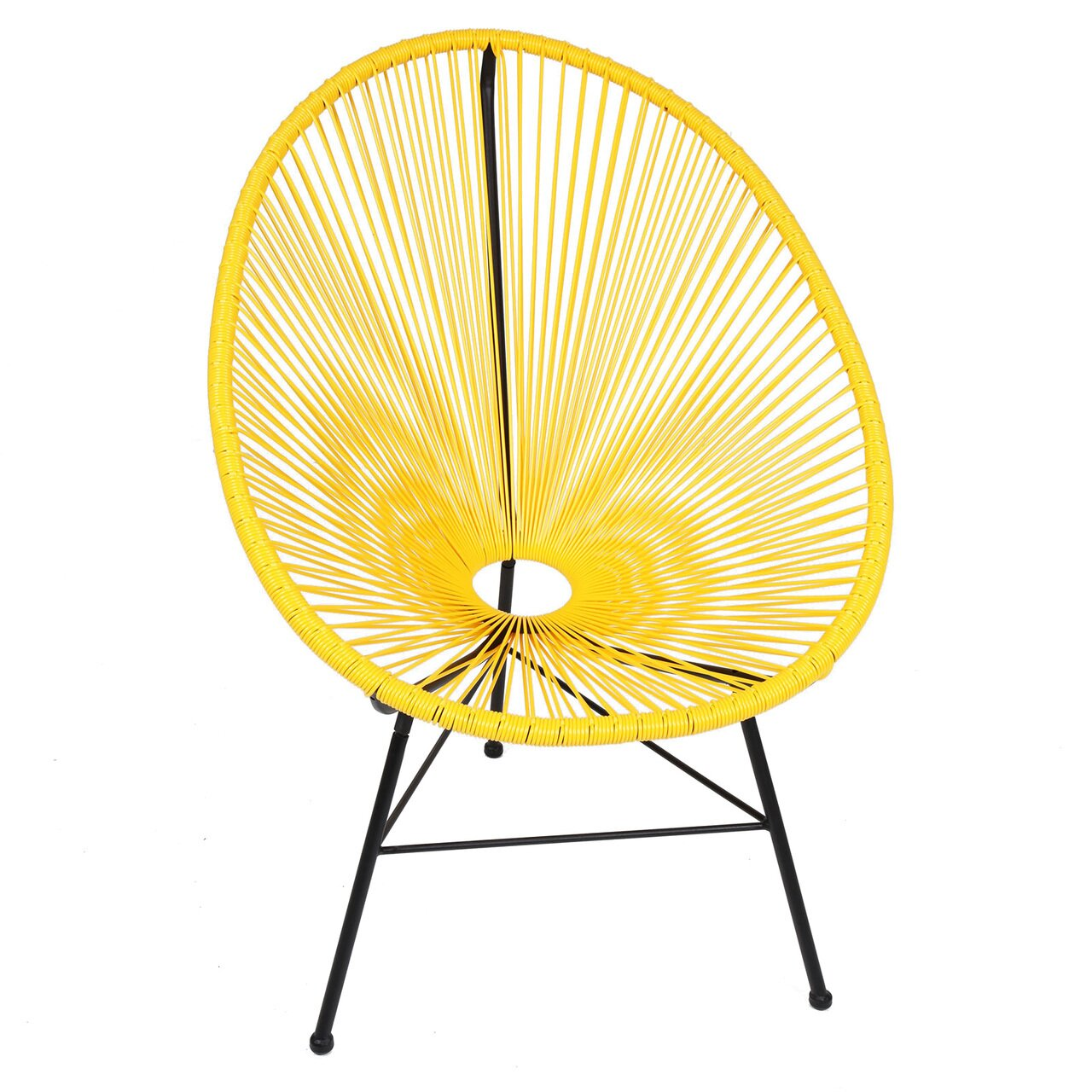 Acapulco chair on patio - Outdoor Patio Furniture Metal Patio Lounge Chairs Polivaz Sku