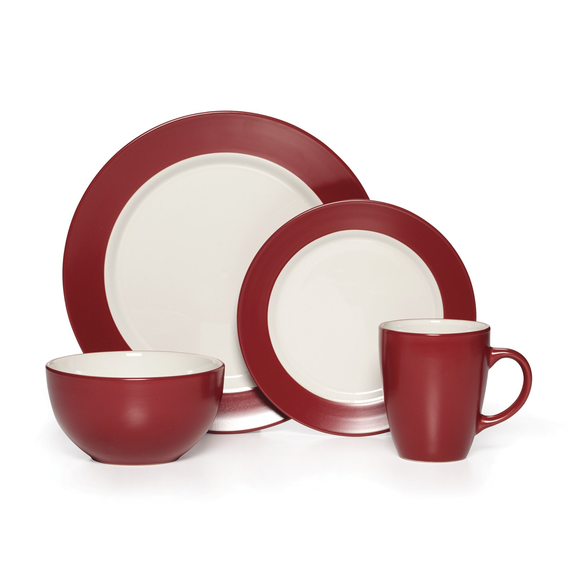 Pfaltzgraff Harmony Everyday 16 Piece Dinnerware Set