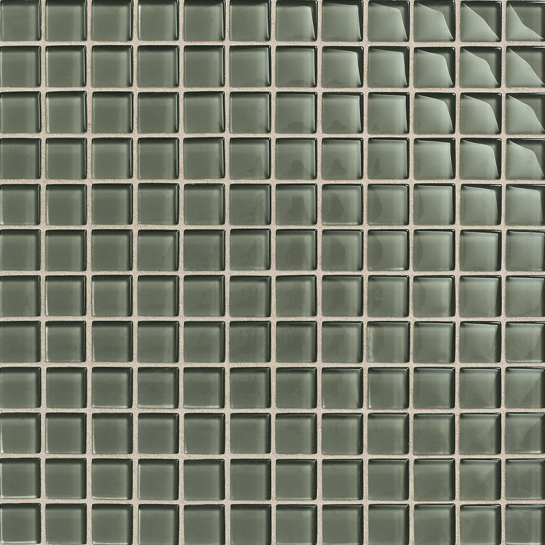 "Daltile Maracas 1"" x 1"" Ceramic Mosaic Tile in Oak Moss"