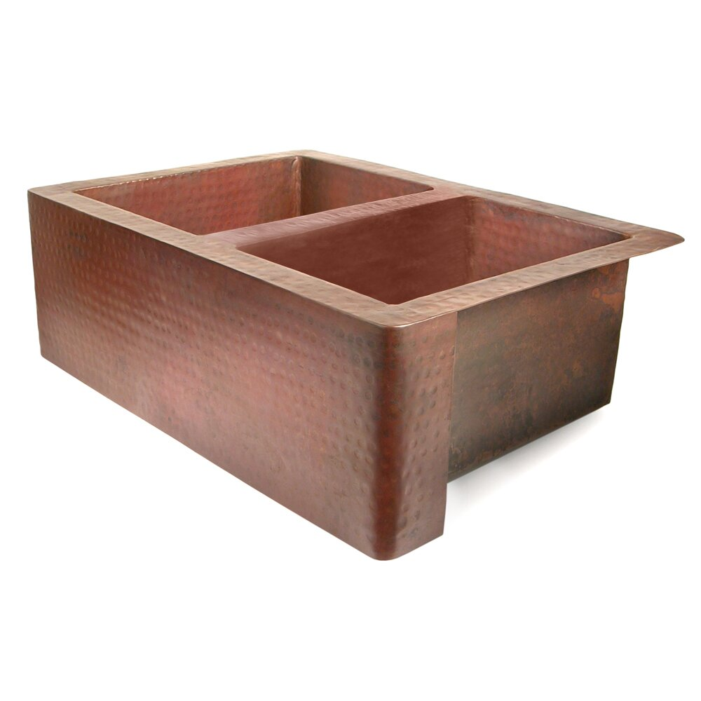 Copper Farmhouse Sink Clearance : Copper 36