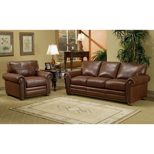 Omnia leather savannah sleeper sofa living room set reviews