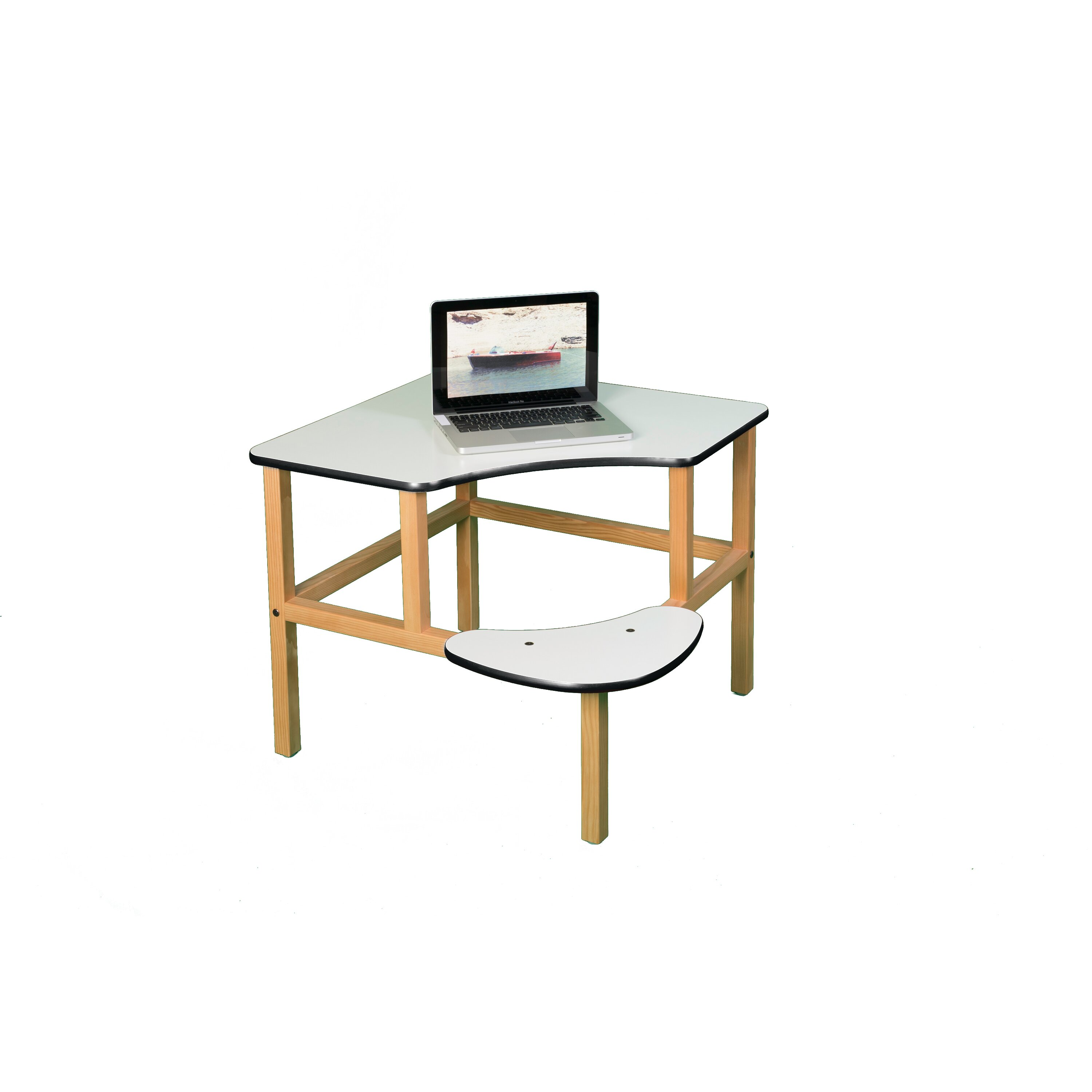 Marvelous photograph of  Zoo Adventure Series 32 Childrens Corner Writing Desk corner desk.jpg with #9C682F color and 3000x3000 pixels