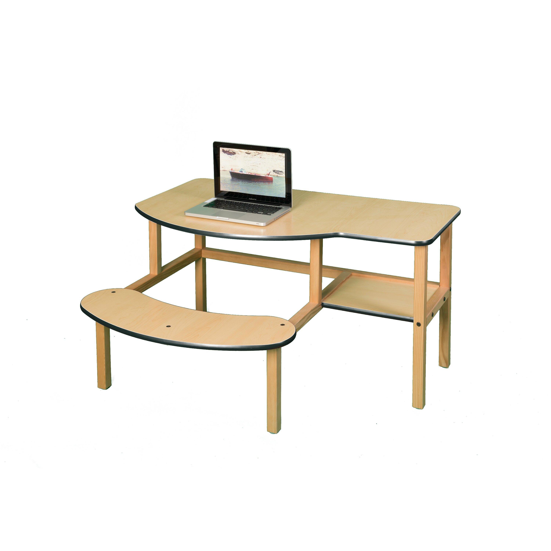 Wild zoo grade school buddy computer desk amp reviews wayfair