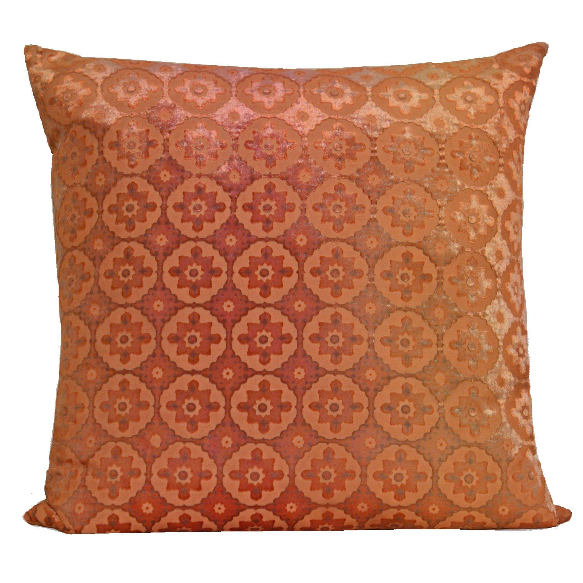 small moroccan velvet throw pillow wayfair