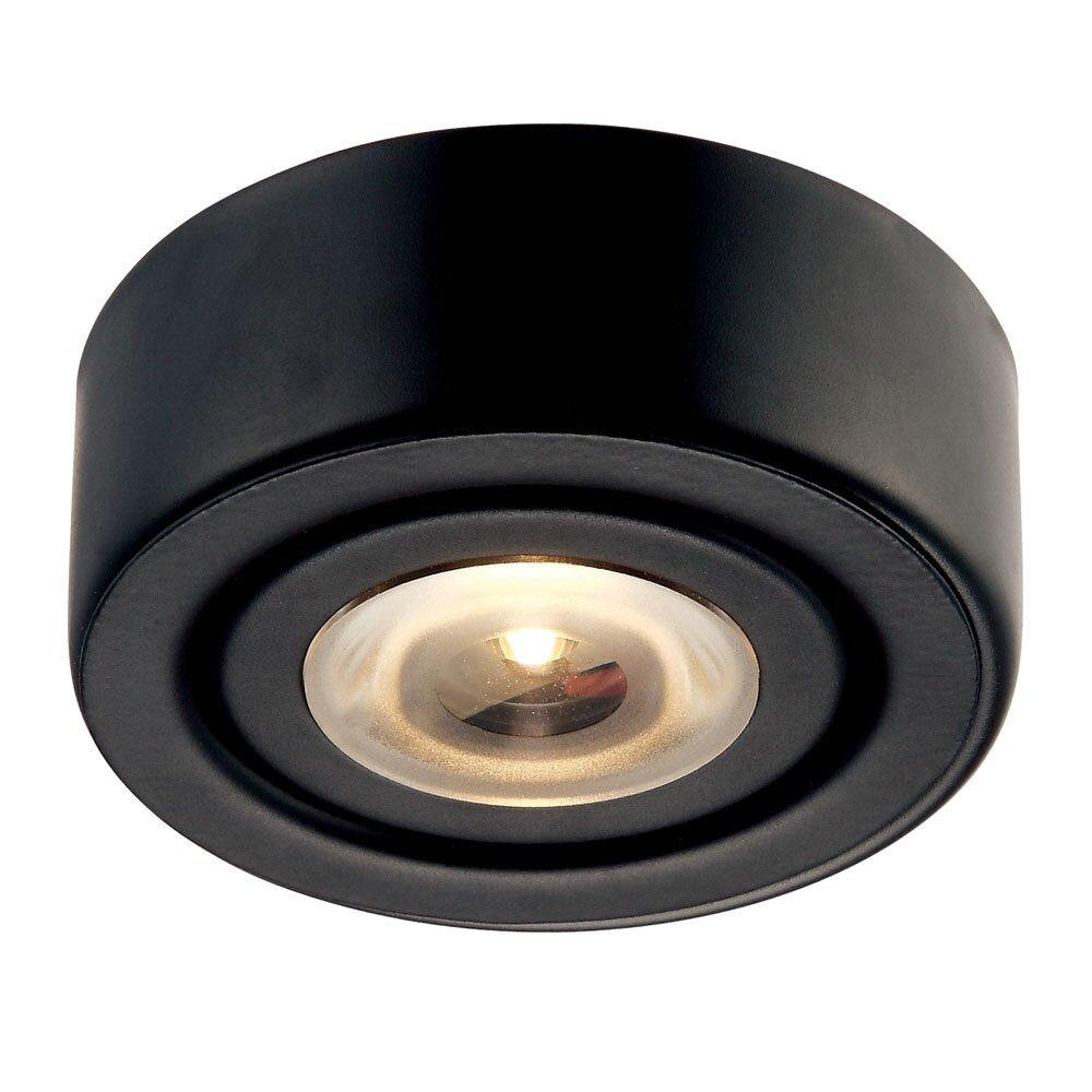 led under cabinet puck light wayfair. Black Bedroom Furniture Sets. Home Design Ideas