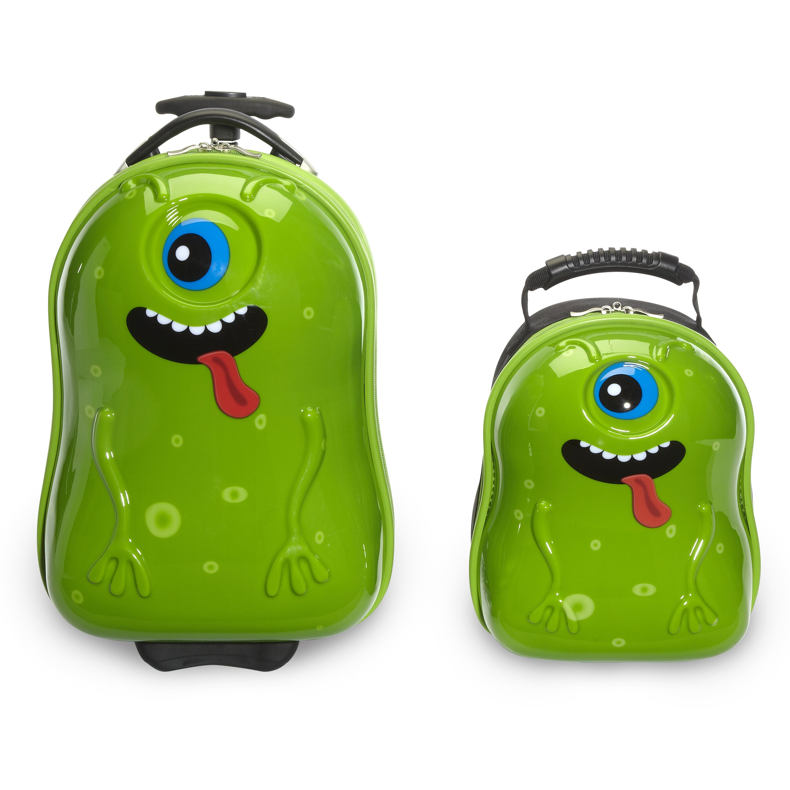 Trendykid 2 Piece Archie Alien Children S Luggage Set