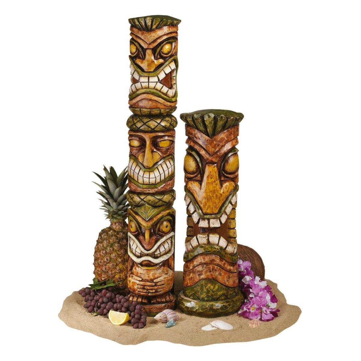 Design Toscano Aloha Hawaii Tiki Statue & Reviews   Wayfair