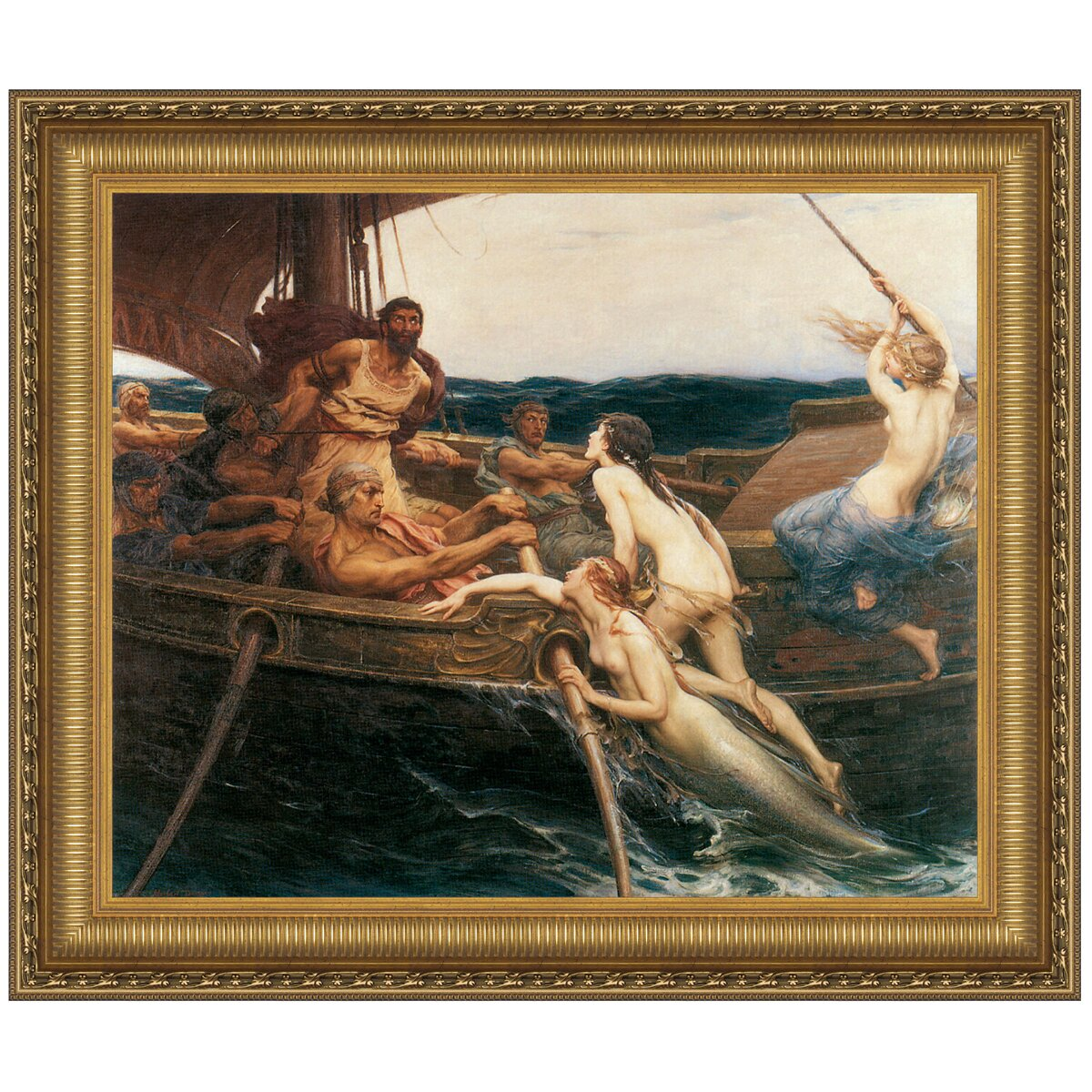Lawn Chair Covers Ulysses and the Sirens, 1909 by Herbert James Draper ...