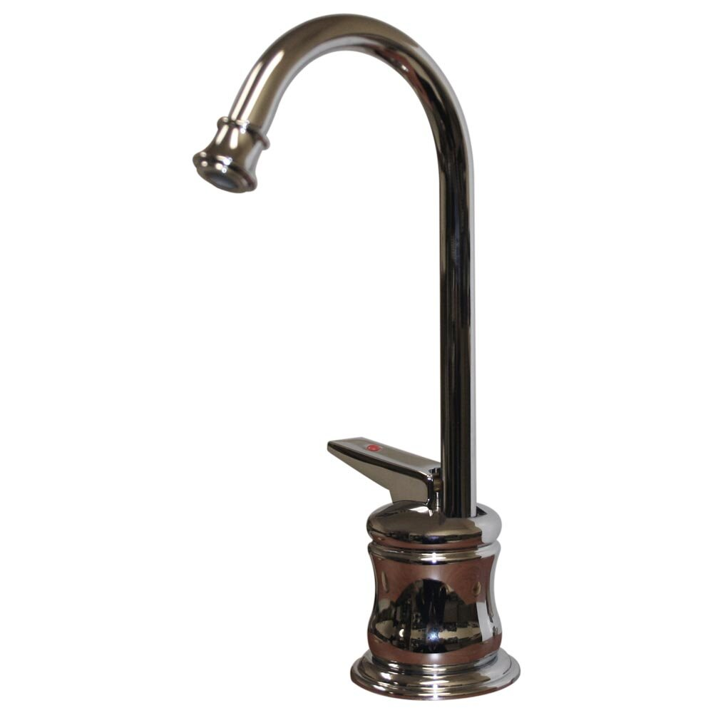 Whitehaus Collection Forever Hot One Handle Single Hole Hot Water Dispenser Faucet With