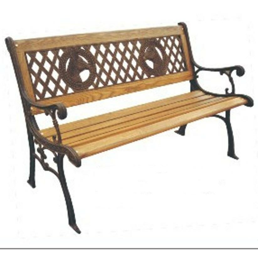 Dc America Champions Wood And Cast Iron Park Bench