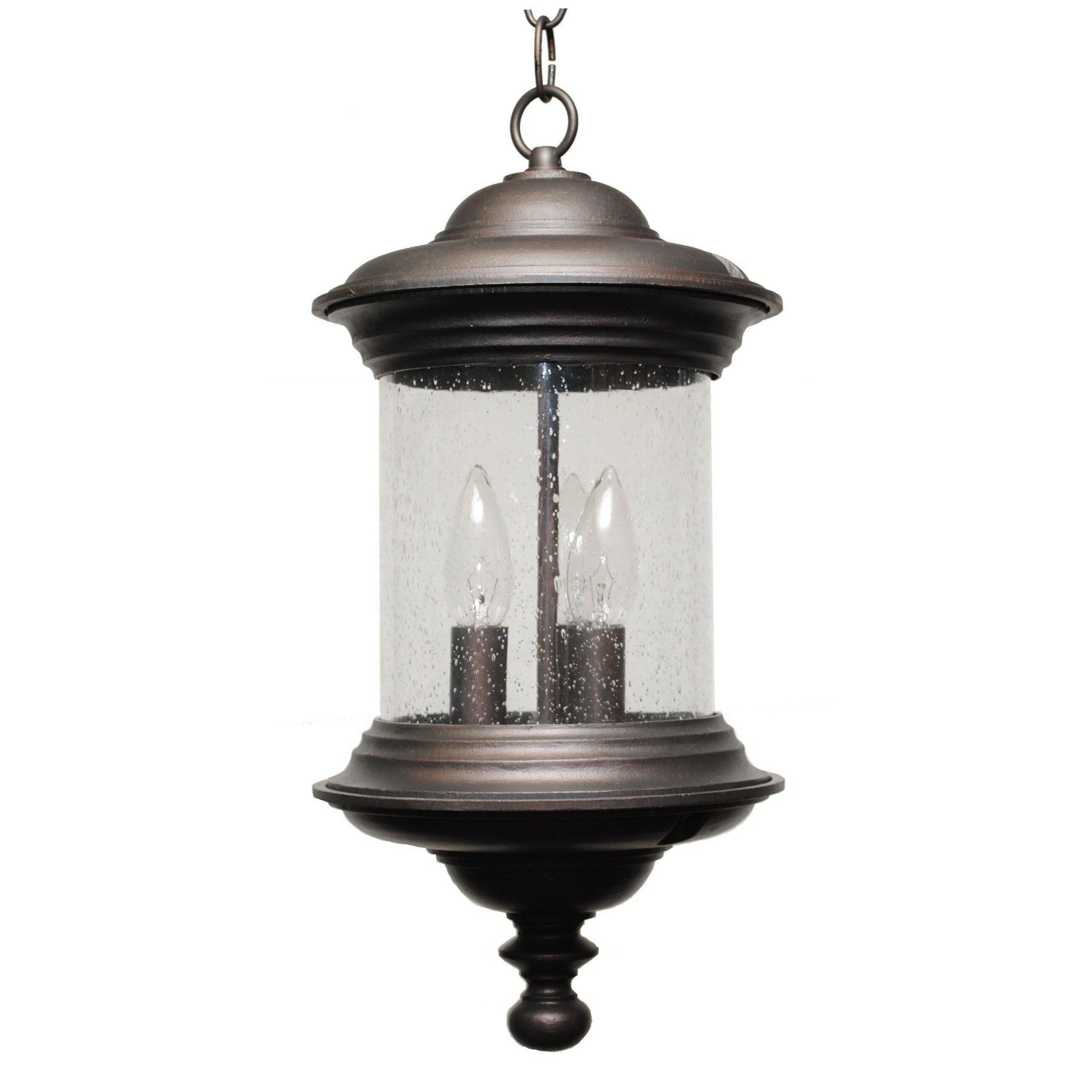 Wayfair Outdoor Hanging Lights: Melissa Tuscany 3 Light Outdoor Pendant & Reviews