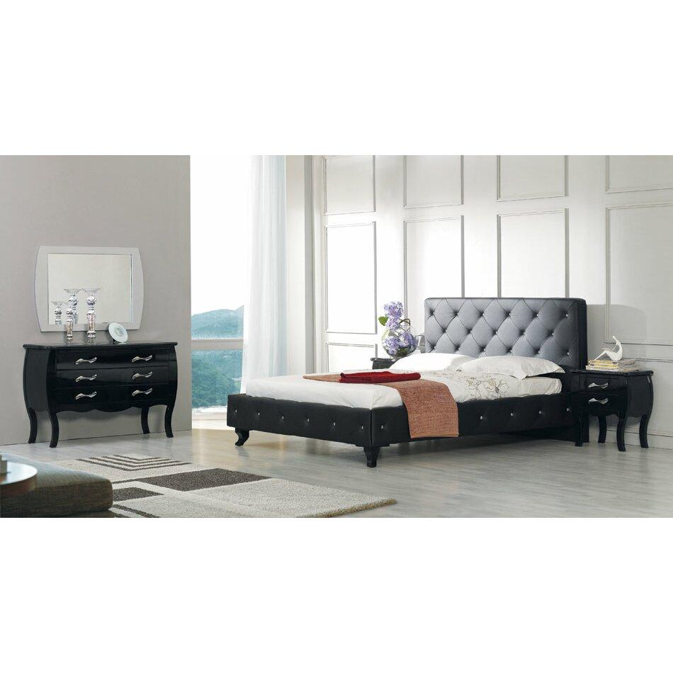 furniture bedroom furniture king sized beds vig furniture sku
