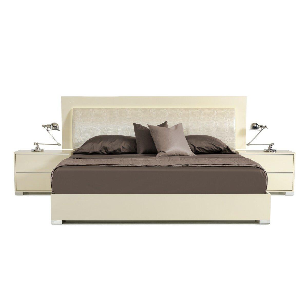 modrest grace platform customizable bedroom set wayfair