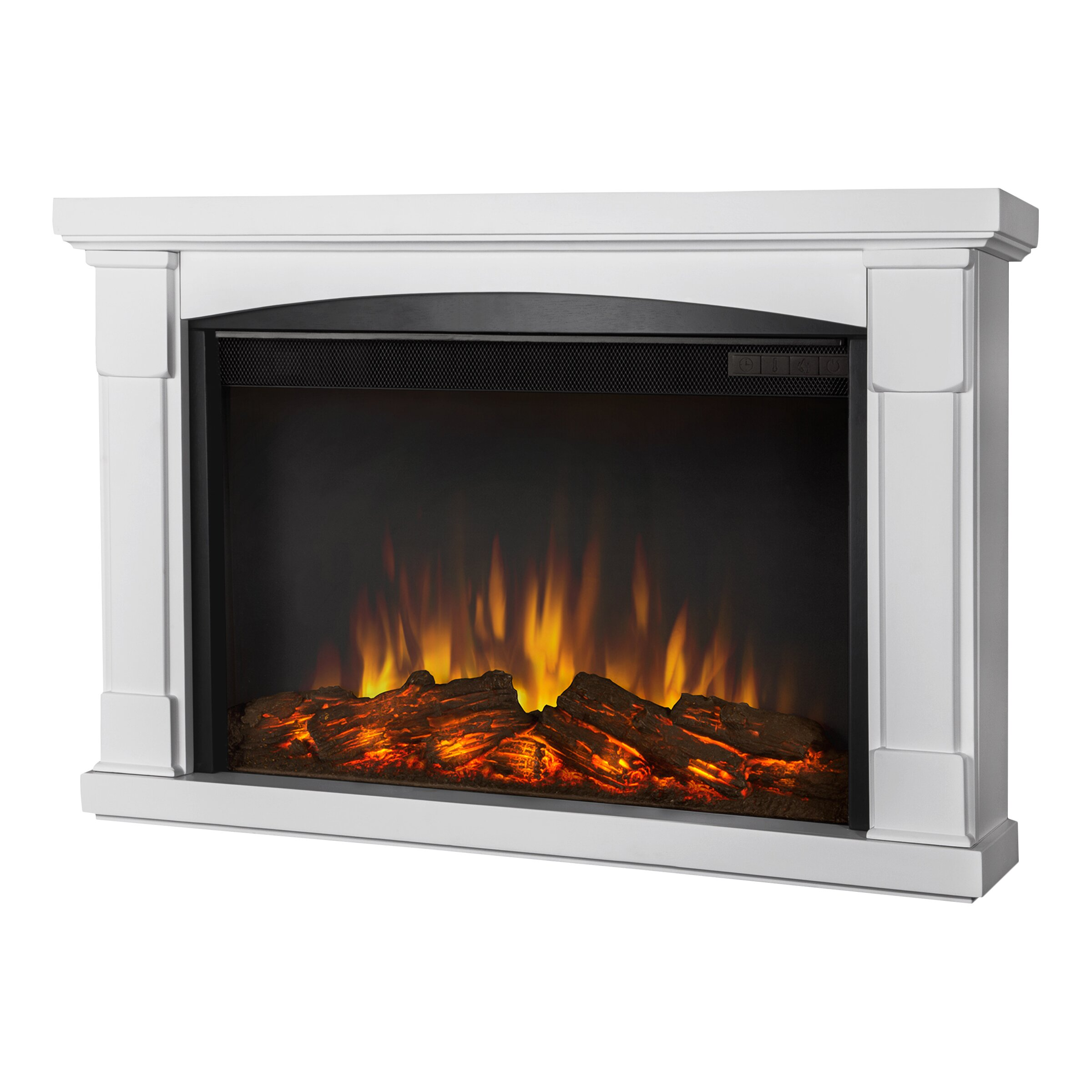 slim brighton wall mounted electric fireplace wayfair