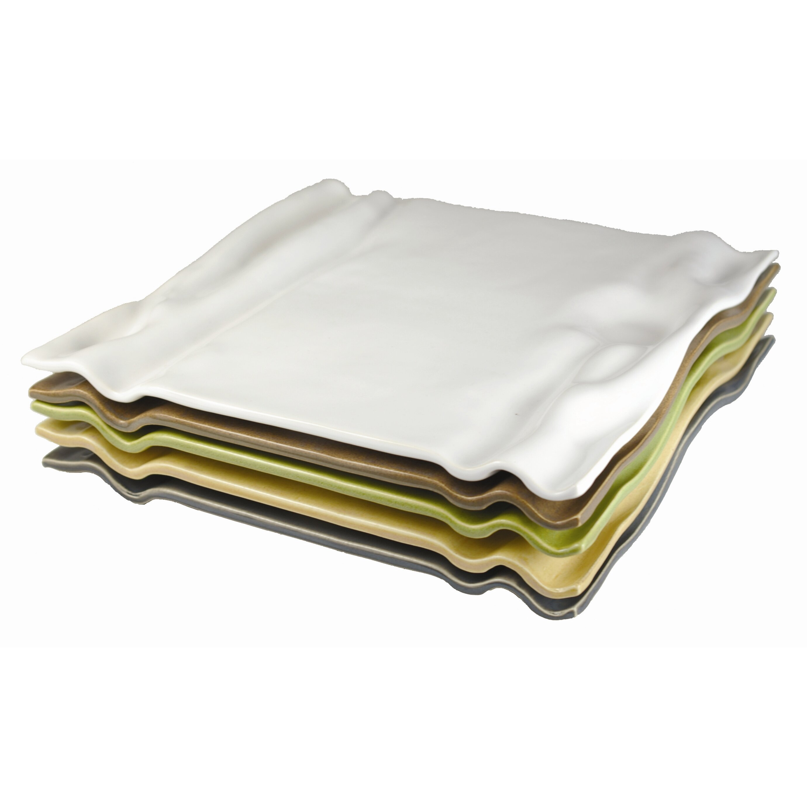 square ripple plate wayfair