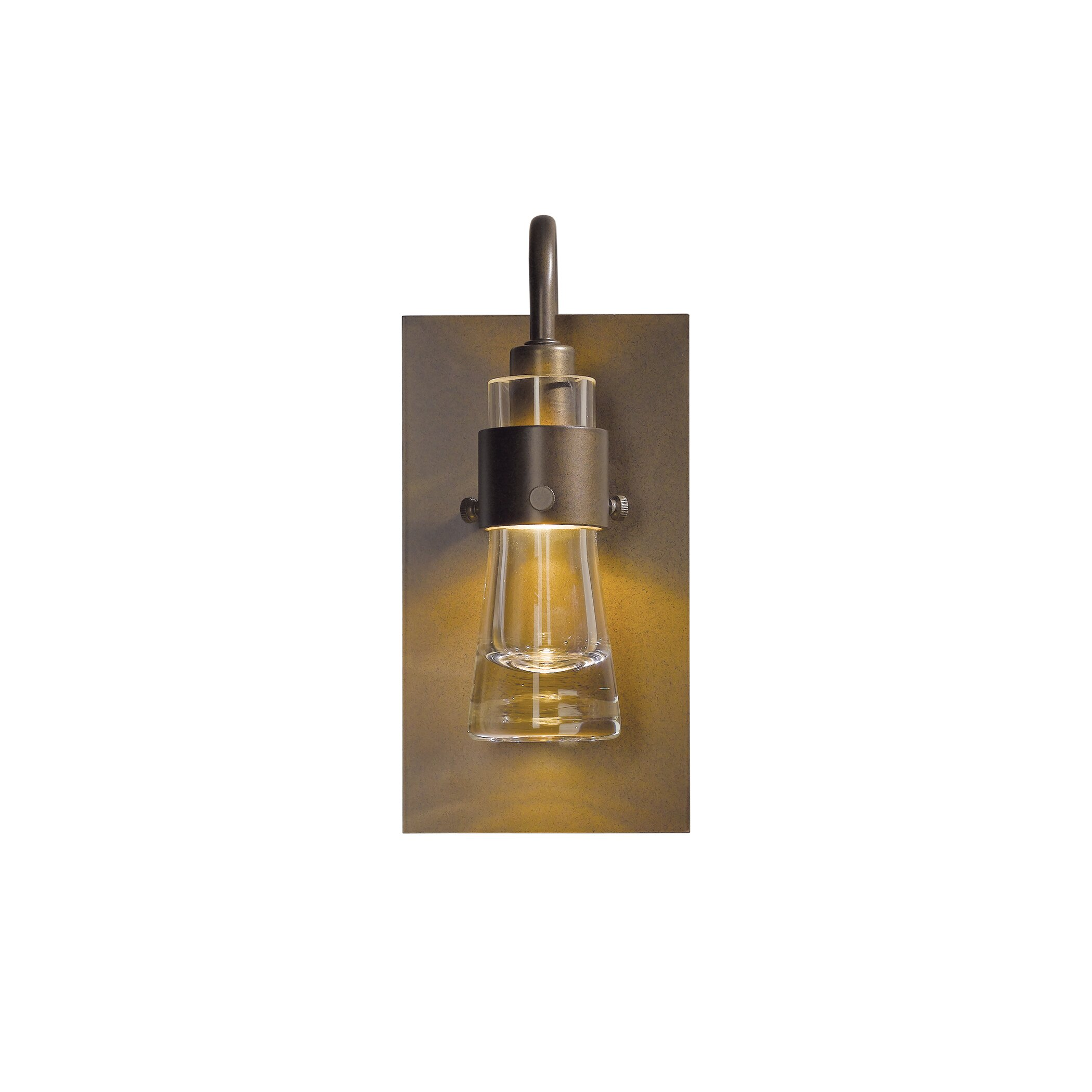 Hubbardton Forge Wall Lights: Hubbardton Forge Erlenmeyer 1 Light Wall Sconce & Reviews
