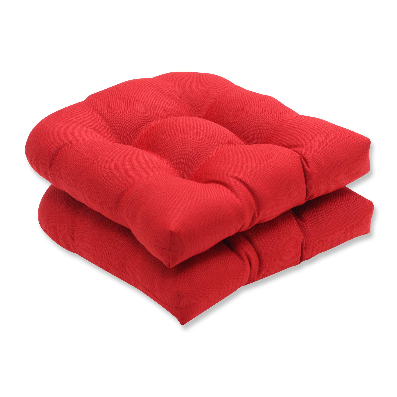 Make Wicker Chair Cushions Wicker Chair Cushion Pompeii Red