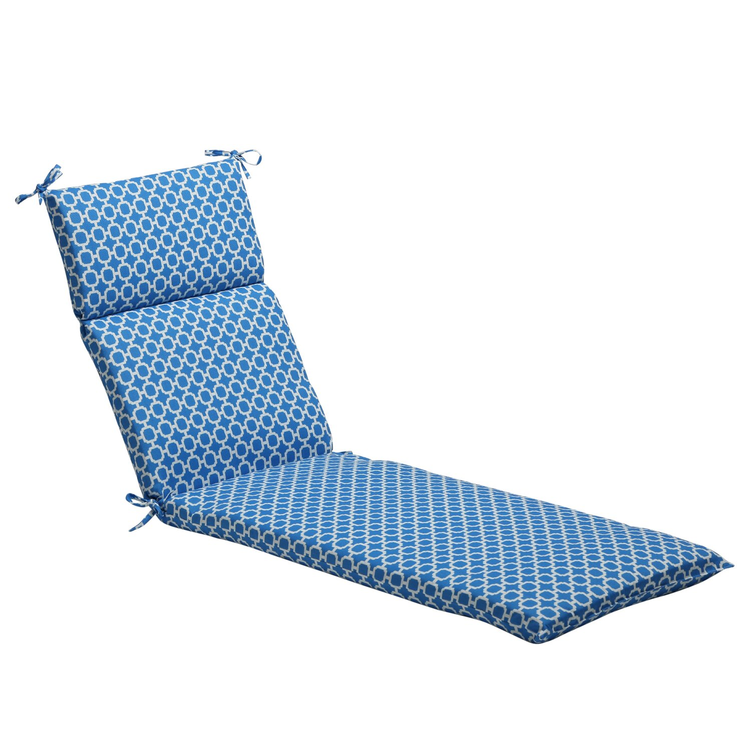 Pillow perfect outdoor chaise lounge cushion reviews for Chaise lounge cushion outdoor