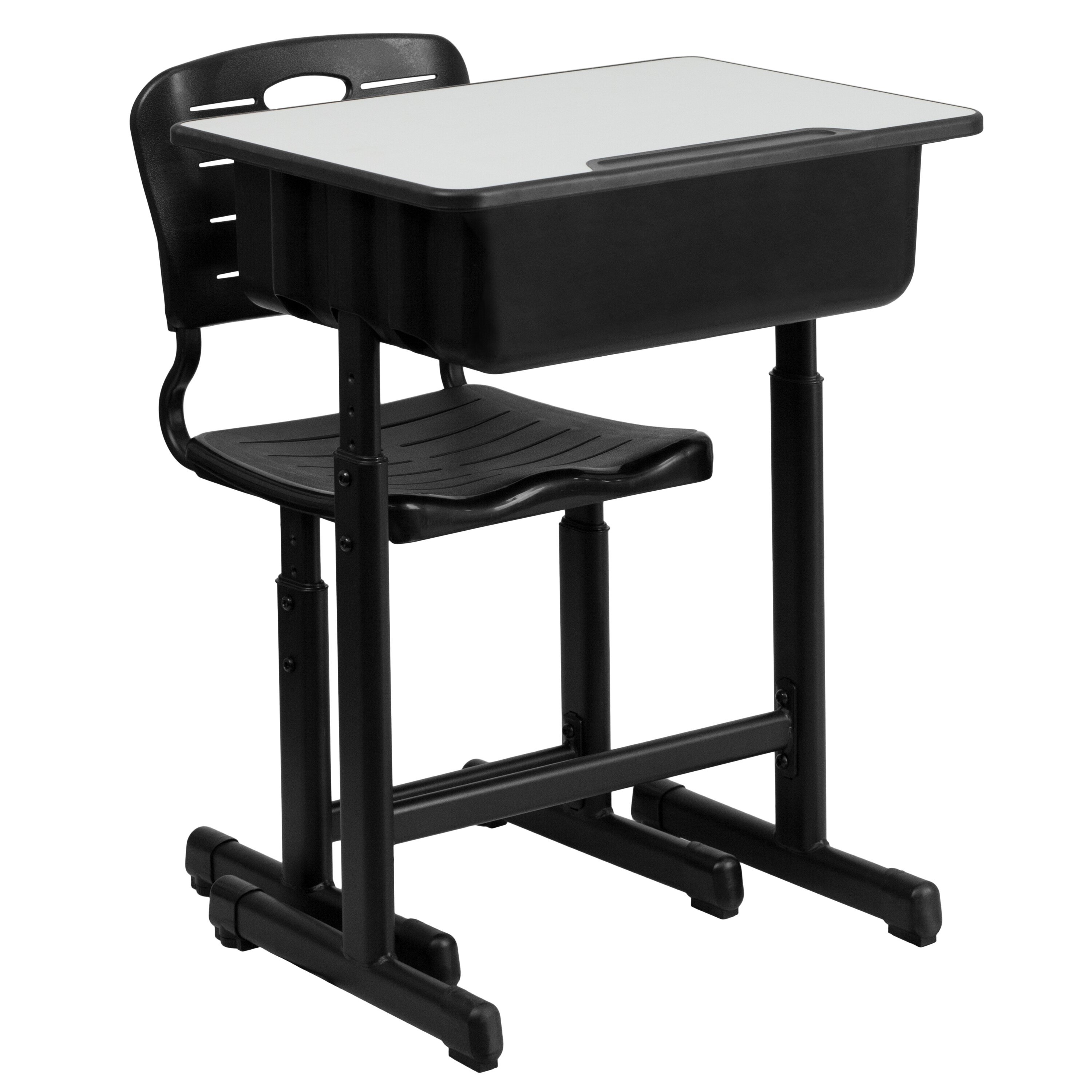 Flash Furniture 2 Piece Student Desk and Chair Set ...