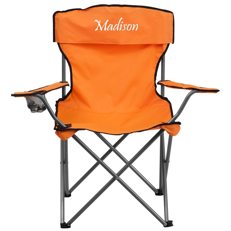 Flash Furniture Embroidered Folding Camping Chair