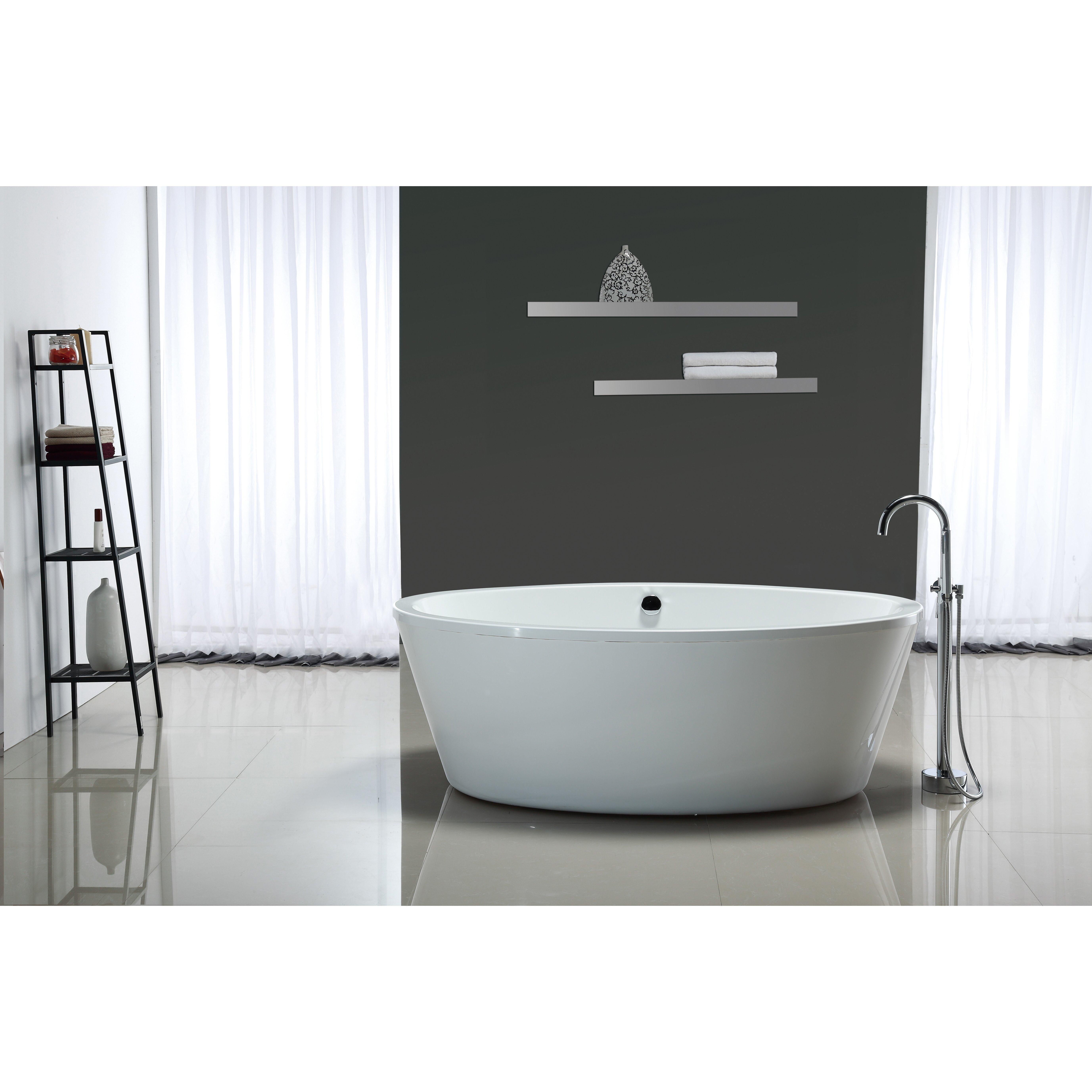 Ove Decors Marilyn 67 Quot X 43 Quot Soaking Bathtub Amp Reviews