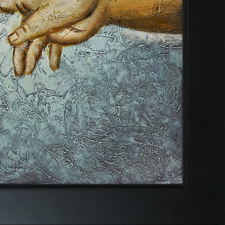 Michelangelo Creation Of Adam Original