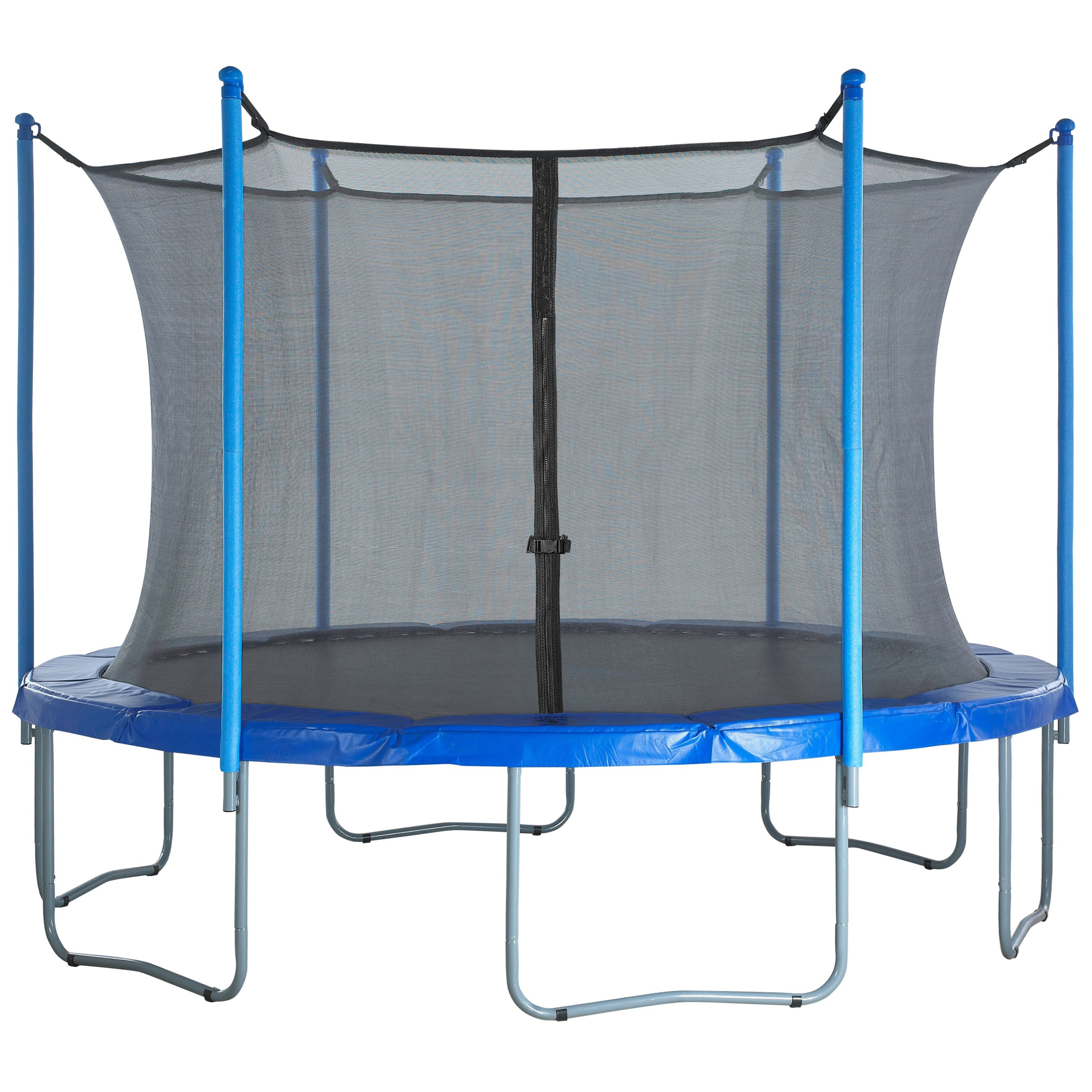 Upper Bounce 15' Round Trampoline Net Using 6 Poles Or 3