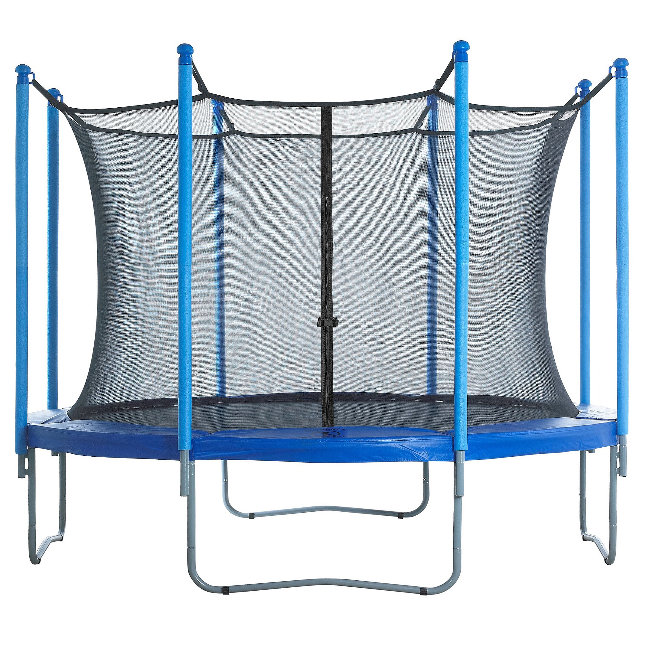 Upper Bounce 15' Round Trampoline Net Using 8 Poles Or 4