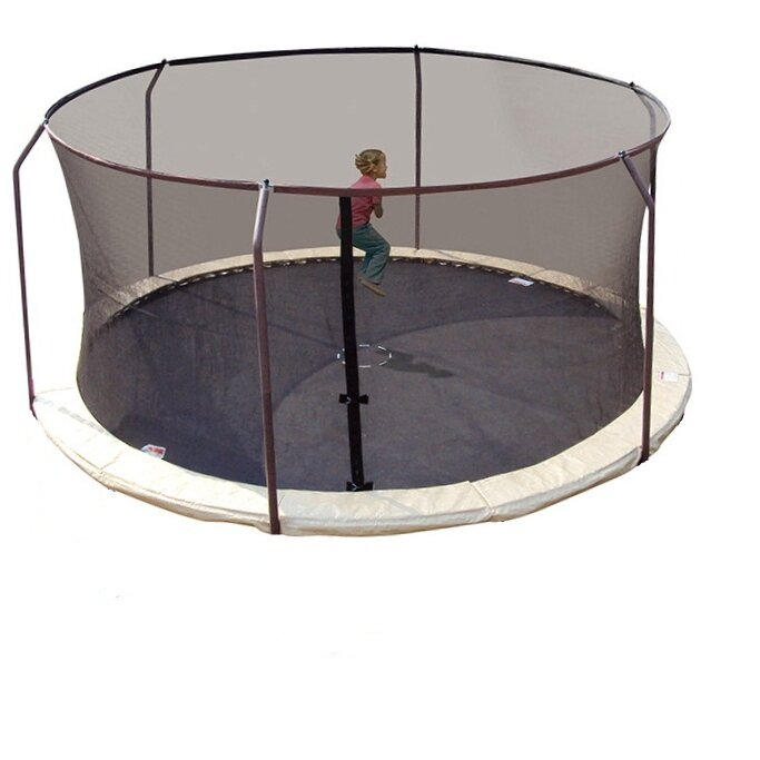 Upper Bounce 14' Replacement Safety Trampoline Net Using 6