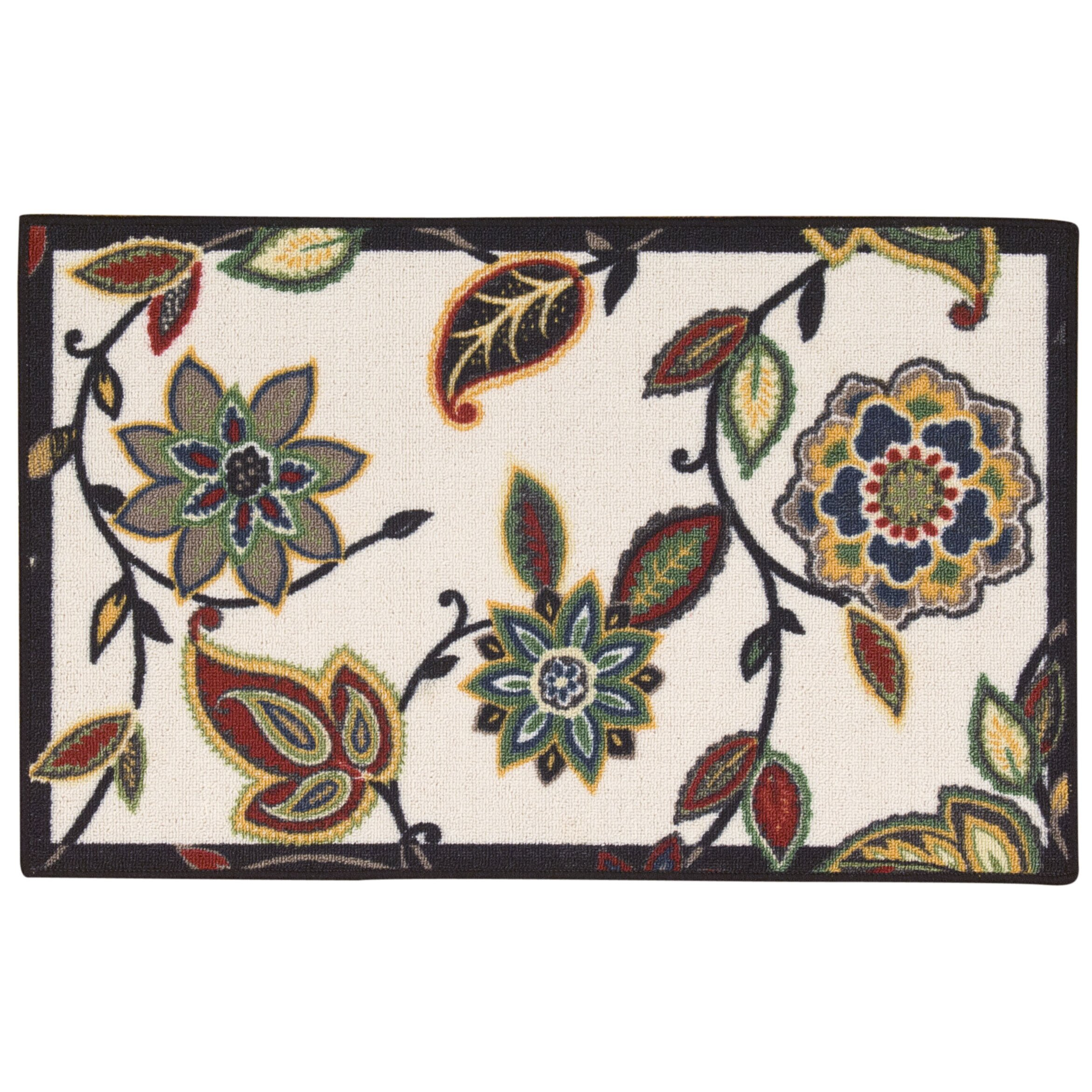 Waverly Fancy Free Amp Easy Quot Lively Trail Quot Onyx Accent Rug