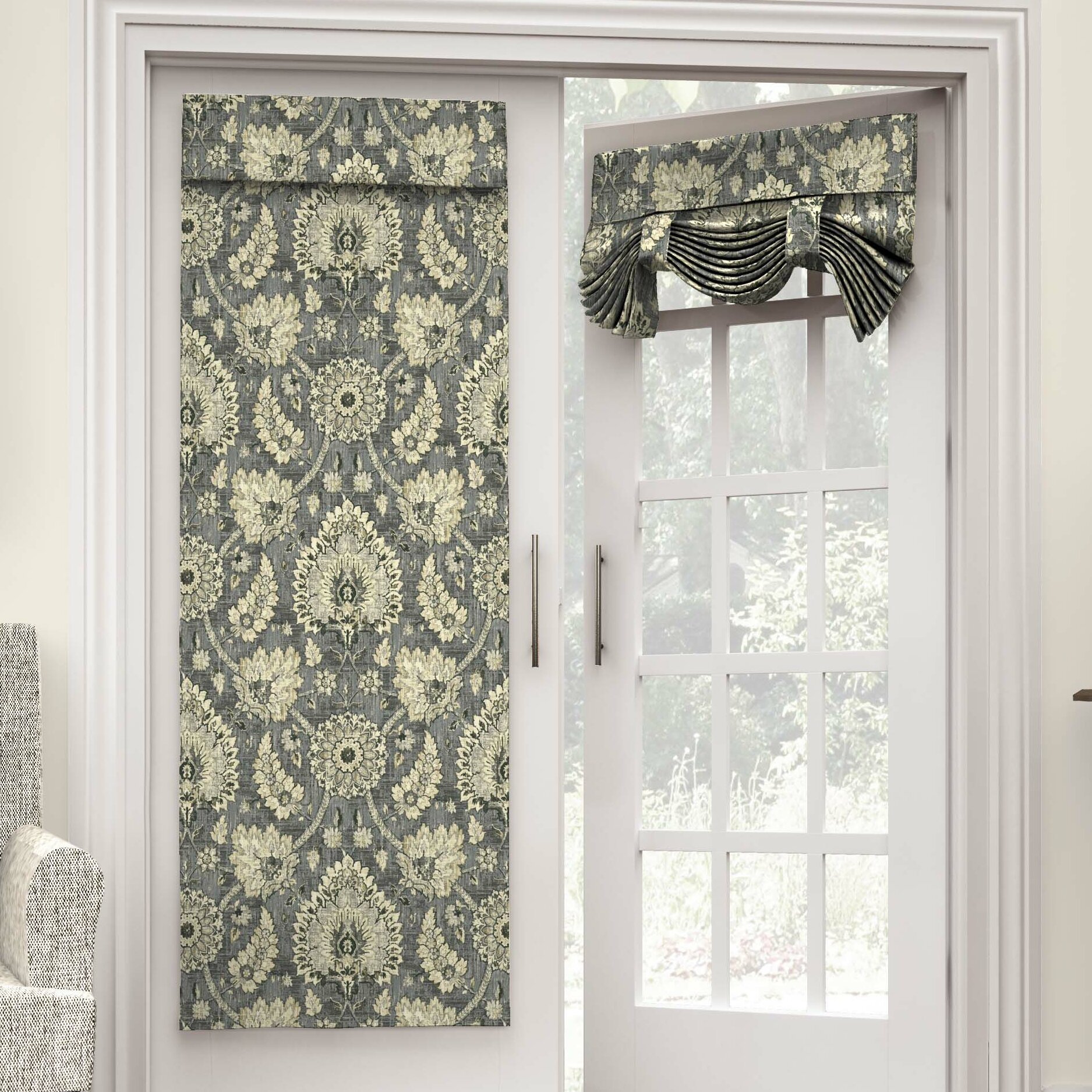 Panel Curtain French Door Curtains Sidelight Second sunco