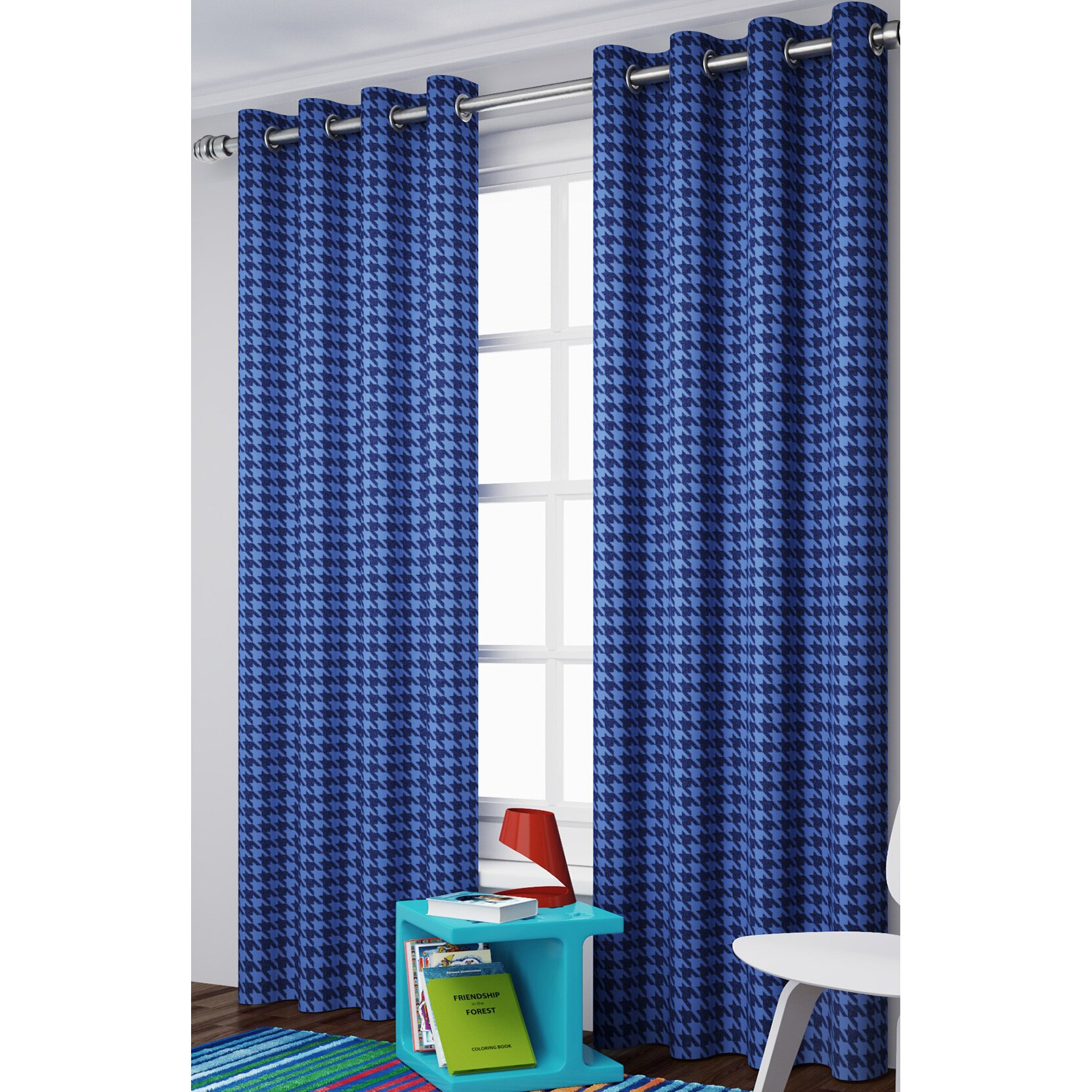 Eclipse Curtains Bexley Window Curtain Single Panel