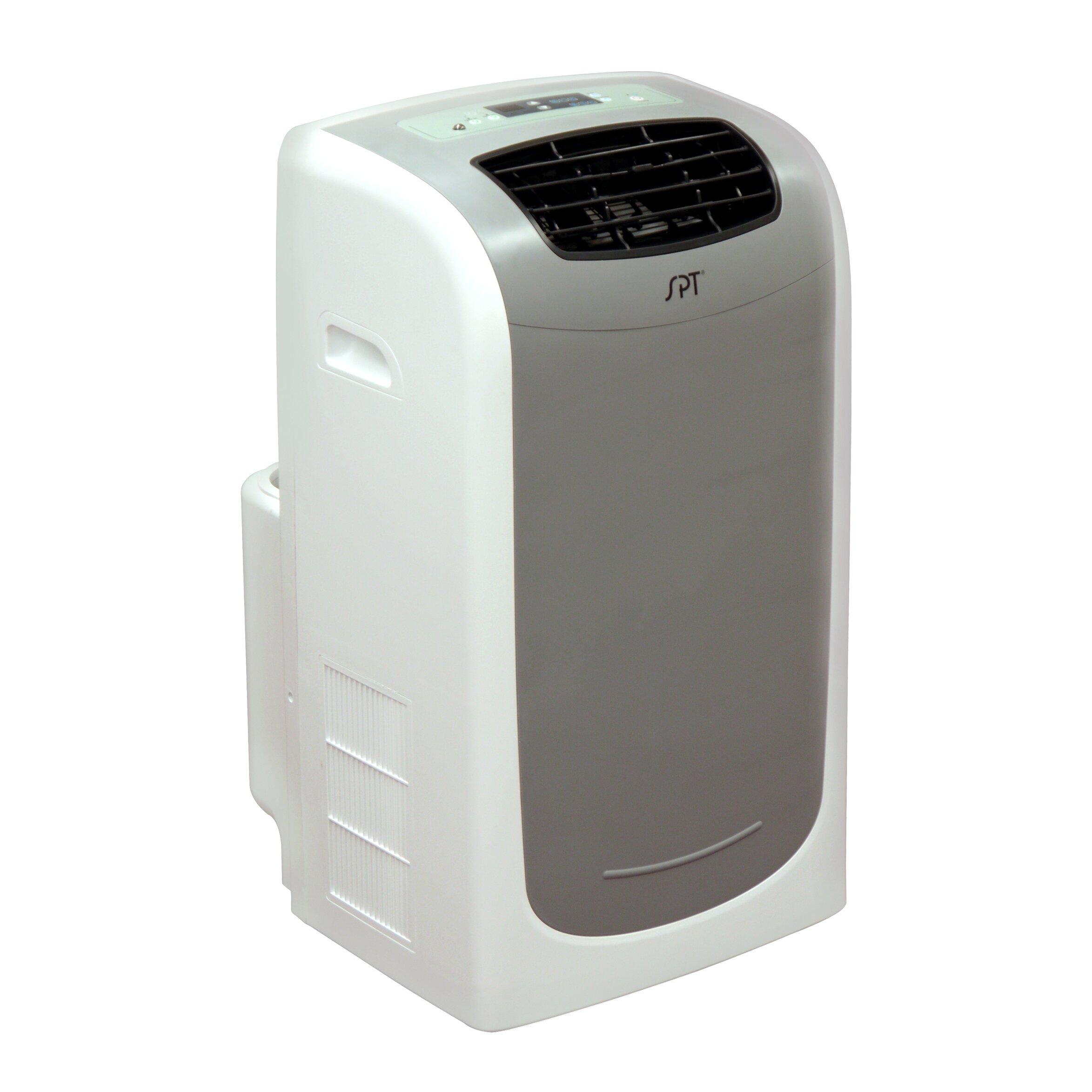 Dual Hose 13 000 BTU Portable Air Conditioner Wayfair Supply #605851