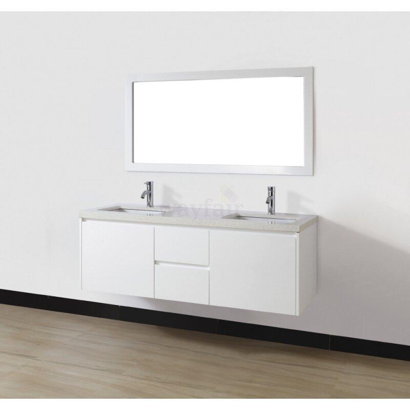Home Improvement Bathroom Fixtures ... Bauhaus Bath Part #: Bamos60Wht ...