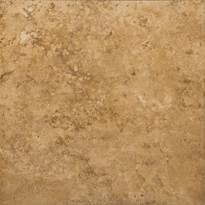 Emser tile odyssey 20 x 20 ceramic field tile in noce for 13x13 ceramic floor tiles