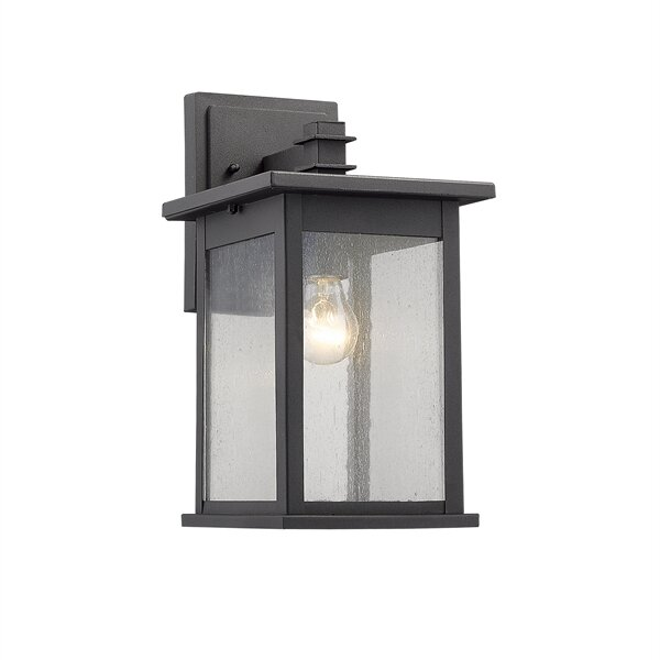 Wayfair Outdoor Wall Lights : Chloe Lighting Tristan 1 Light Outdoor Wall Sconce & Reviews Wayfair