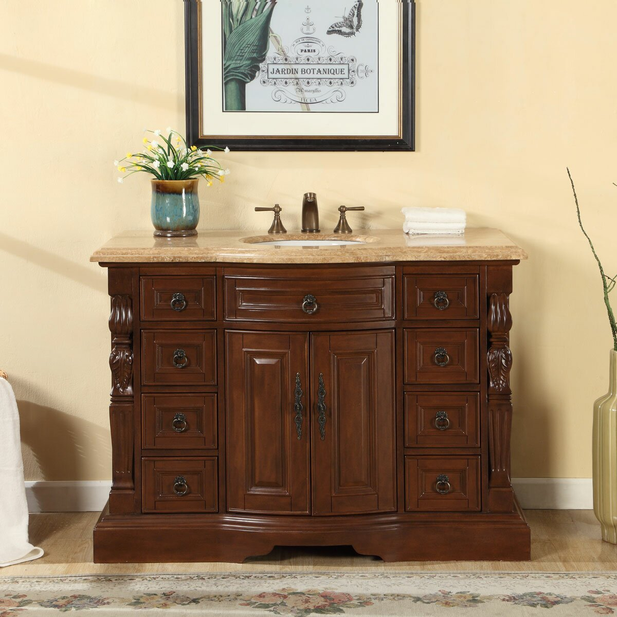 exclusive 48 single sink bathroom vanity set reviews wayfair