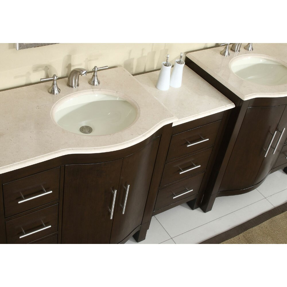 exclusive kimberly 89 double bathroom vanity set reviews wa
